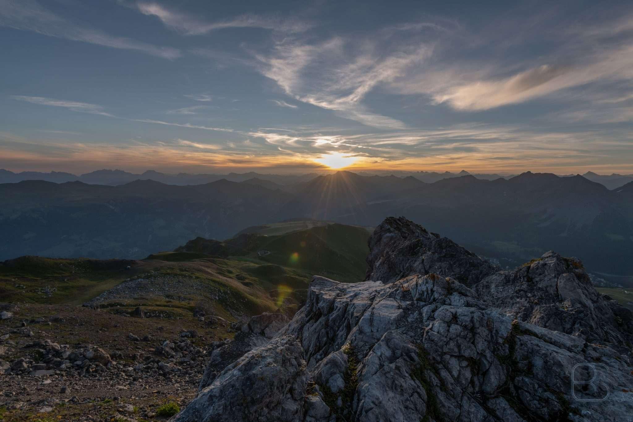 Arosa Weisshorn Sunrise